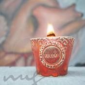 Sojų vaško žvakės
